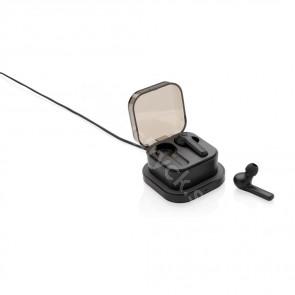 Tws öronsnäckor i trådlöst laddningsfodral