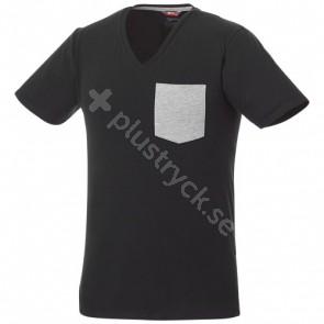 Gully kortärmad herr-t-shirt med ficka