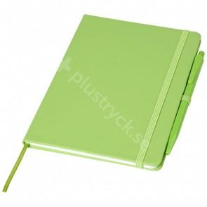 Prime mediumstorlek anteckningsbok med penna