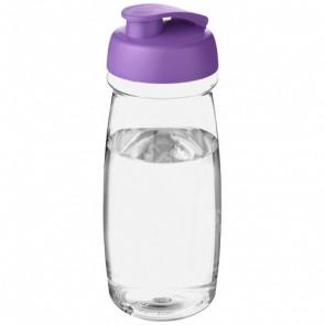 H2O Pulse® 600 ml sportflaska med uppfällbart lock