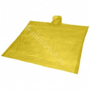 Ziva regnponcho för engångsbruk med förvaringspåse
