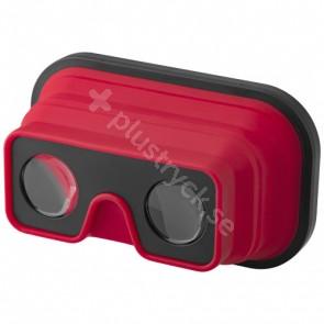 Sil-Val hopfällbara Virtual Reality-glasögon i silikon