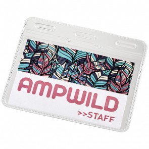 Arell transparant ID-plastficka