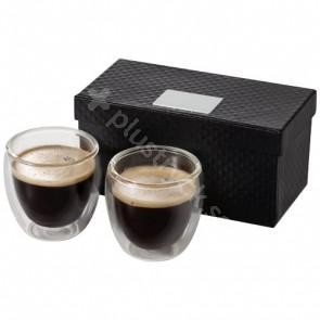 Boda 2-delars espressoset i glas