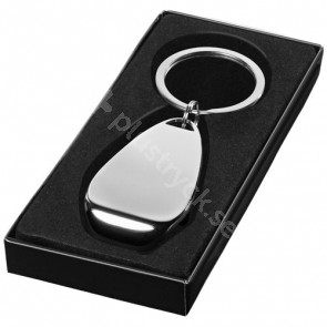 Don nyckelring med flasköppnare