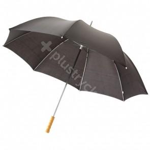 """Karl 30"""" golfparaply med trähandtag"""