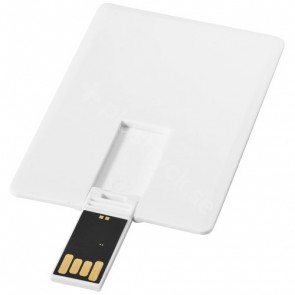 Slim USB 2 GB i kortformat