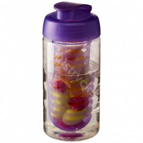 H2O Bop® 500 ml sportflaska med uppfällbart lock och fruktkolv