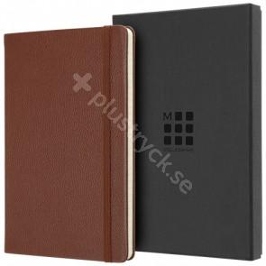 Classic L linjerad anteckningsbok i läder