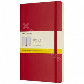 Classic L anteckningsbok med mjukt omslag – rutat
