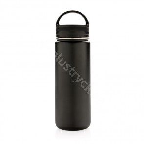Vakuumisolerad läckagesäker flaska med stor dricköppning