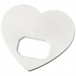 Amour hjärtformad flasköppnare