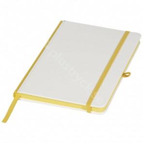 Digital Print anteckningsbok med PU-omslag och färgad rygg