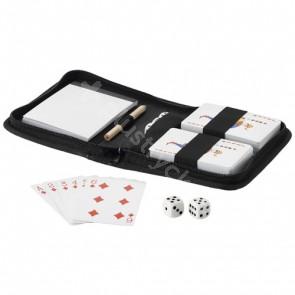 Tronx uppsättning spelkort i två delar med påse