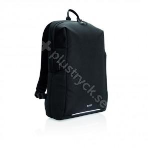 Swiss Peak RFID och USB laptopryggsäck, PVC-fri