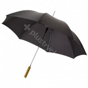 """Lisa 23"""" automatiskt paraply med trähandtag"""