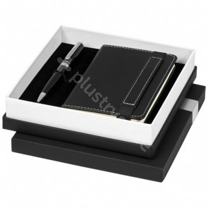 Legatto A6-anteckningsblock och presentset med kulspetspenna