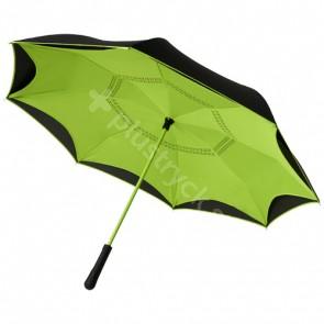 Yoon 23-tums omkastade färger rakt paraply