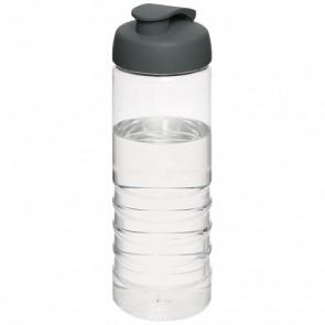 H2O Treble 750 ml sportflaska med uppfällbart lock
