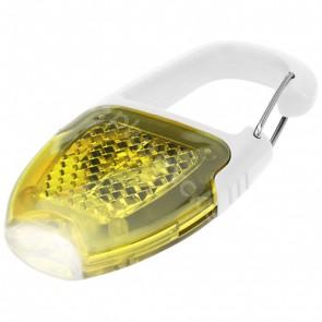 Reflect-or LED-nyckelringslampa med karbinhake