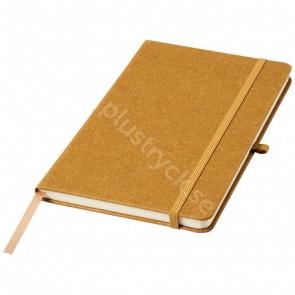 Atlana läderbitar A5-format anteckningsbok