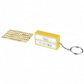 Cinema nyckelring med LED-lampa