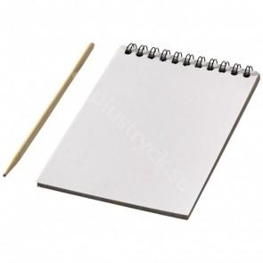 Waynon färgglad skrapbok med skrappenna