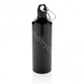 Xl aluminium waterbottle with carabiner