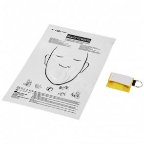 Henrik mun-mot-mun-mask i polyesterfodral