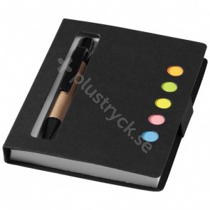 Reveal set färgat notisblock med penna