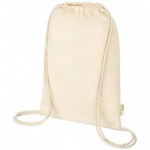 Orissa 100 g/m² GOTS ryggsäck med dragsnöre i ekologisk bomull