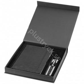 Lace A5-anteckningsbok och penna i presentset