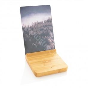 Bambu 5W trådlös laddare med fotoram