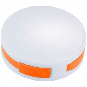 Round 4-portars USB-hubb
