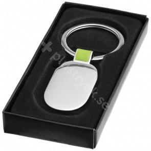 Barto oval nyckelring