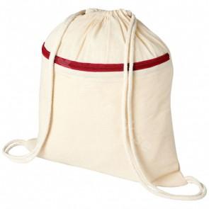 Oregon blixtlåsförsedd ryggsäck med dragsko